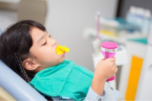 Root Canal Treatment for a 3-year-old Baby